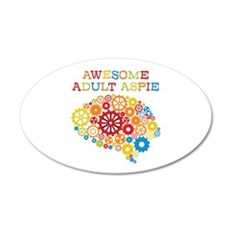 Aspie Adult Autism Wall Decal