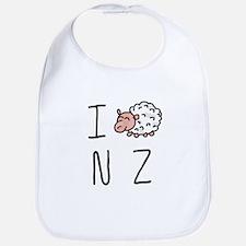 I Heart NZ - Cute Sheep Bib