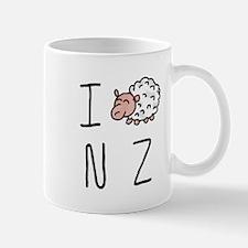 I Heart NZ - Cute Sheep Mug