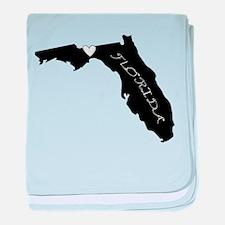 Tallahassee Florida baby blanket