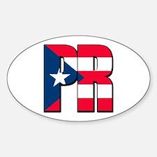 Puerto Rican pride Sticker (Oval)