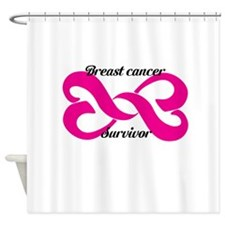 Breast cancer survivor Shower Curtain