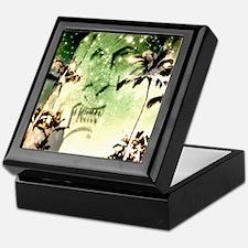 Tiki Palms Twinkling Keepsake Box