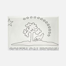 South California Flag Rectangle Magnet