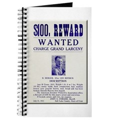 Leo Botrick Wanted Journal