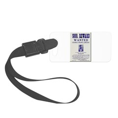 Leo Botrick Wanted Luggage Tag