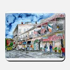 savannah river street painting Mousepad