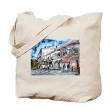 savannah river street painting Tote Bag