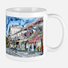 savannah river street painting Mug