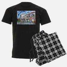 savannah river street painting Pajamas