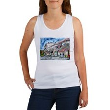 savannah river street painting Women's Tank Top