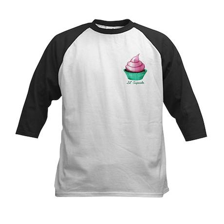 Lil Cupcake Kids Baseball Jersey