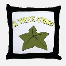 A Tree Star! Throw Pillow