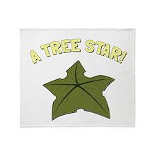 A Tree Star! Throw Blanket