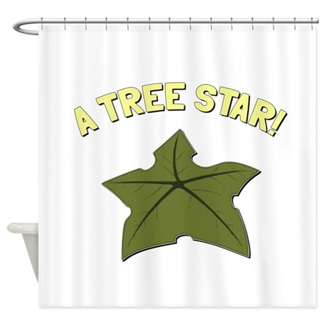 A Tree Star! Shower Curtain