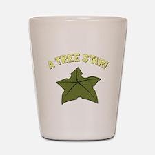A Tree Star! Shot Glass