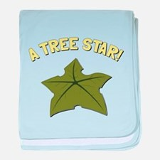 A Tree Star! baby blanket
