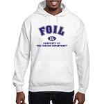 Foil Hooded Sweatshirt