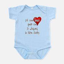Let Your Heart Guide You Infant Bodysuit
