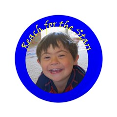 """Reach for the Stars 3.5"""" Button (100 pack)"""