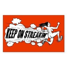 Keep on Streakin Decal