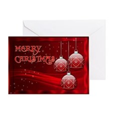 Merry Christmas (red Greeting Card)