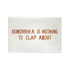 gonorrhea is Rectangle Magnet