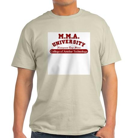 MMA University Armbar Ash Grey T-Shirt