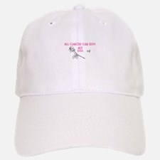 Cancer can kiss my Ass Baseball Baseball Cap