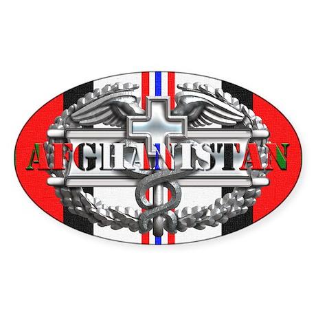 Harvest Moons CMB-Afghanistan Sticker (Oval)