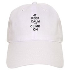 Keep Calm and Climb On Hat
