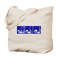 Blue Sequence: Tote Bag