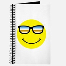 Smiley Face Glasses Journal