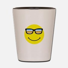 Smiley Face Glasses Shot Glass