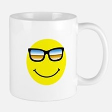 Smiley Face Glasses Mug