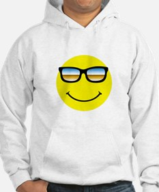 Smiley Face Glasses Hoodie