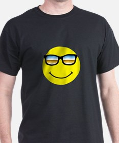 Smiley Face Glasses T-Shirt