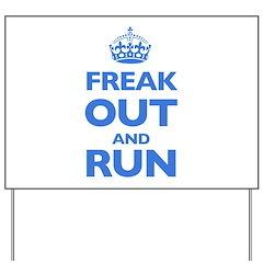 Keep Calm Yard Sign