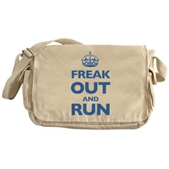Keep Calm Messenger Bag