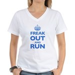 Keep Calm Women's V-Neck T-Shirt