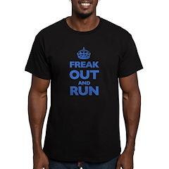 Keep Calm Men's Fitted T-Shirt (dark)