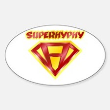 Super Hyphy Oval Decal