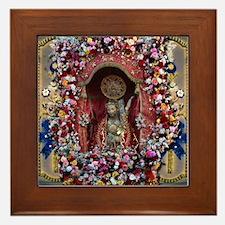 Santo Cristo Framed Tile
