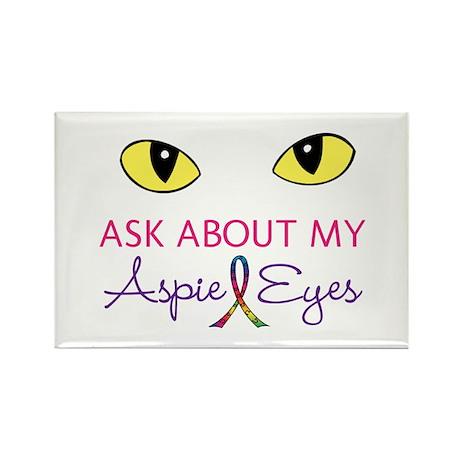 Aspie Eyes Rectangle Magnet