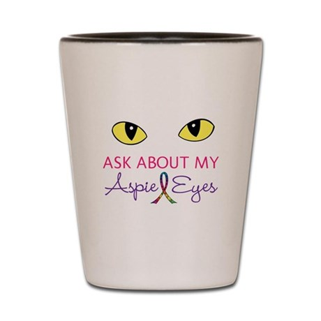 Aspie Eyes Shot Glass