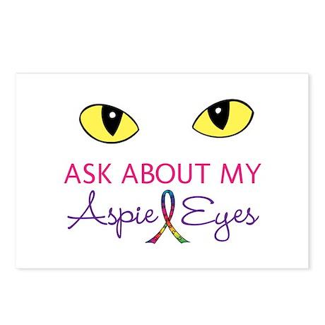 Aspie Eyes Postcards (Package of 8)