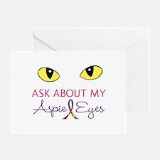 Aspie Eyes Greeting Card