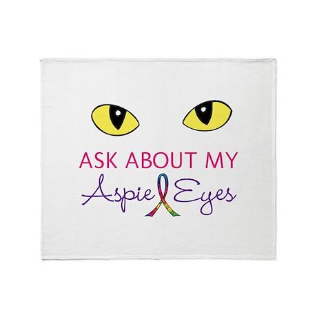 Aspie Eyes Throw Blanket