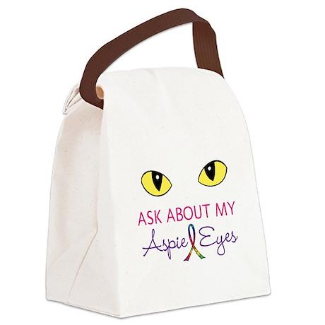 Aspie Eyes Canvas Lunch Bag