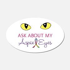 Aspie Eyes Wall Decal